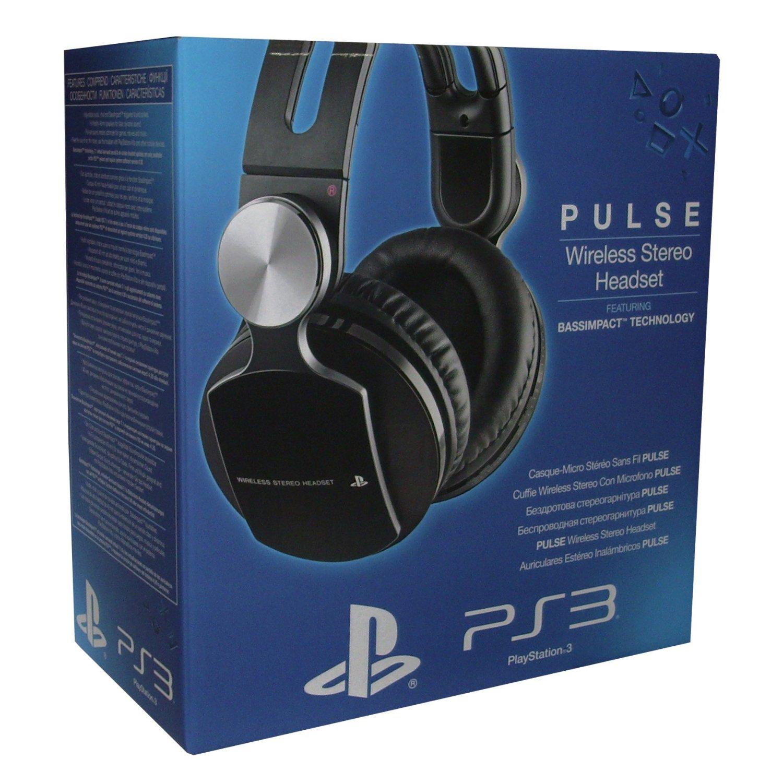 Micro-casque sans fil stéréo premium pour PS3 (Sony Pulse)