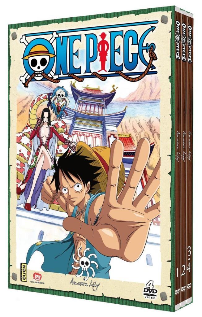 Jusqu'à -50% sur l'animation japonaise en DVD/Blu-ray/Blu-ray 3D - Ex : Coffret DVD One Piece