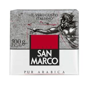 Lot de 2 paquets (2 x 250grs) de café moulu San Marco (2.95€ sur la carte)