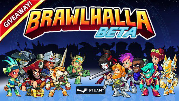 Clé gratuite pour la bêta de Brawlhalla sur PC