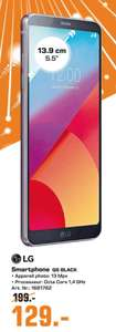 Smartphone 5.5'' LG Q6 Noir - Double SIM, FHD+, 4G, 32 Go, Android 7.1 (Frontaliers Luxembourg)