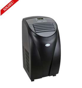 climatiseur mobile reversible klaiser mx120 12000 btu 3500w noir. Black Bedroom Furniture Sets. Home Design Ideas