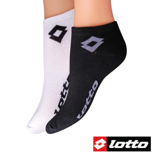 3 paires de chaussettes basses Lotto - Noires ou blanches