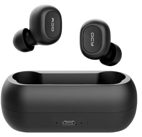 Écouteurs intra-auriculaires sans-fil QCY T1C - Bluetooth 5.0, IPX4