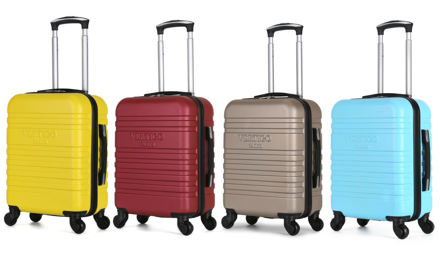 Sélection de valises Vertigo Paris en promotion - Ex:  Valise en ABS couleur au choix