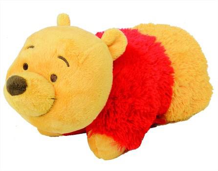 Sélection d'Oreillers changeables en doudous : Winnie l'ourson, Tigrou...
