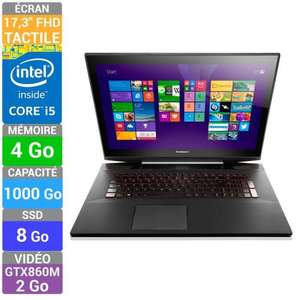 "PC Portable Tactile 17.3"" Lenovo Y70-70 Touch Core i5 (via ODR de 112.5€)"