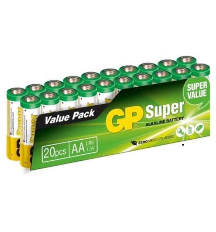 [CDAV] Lot de 20 piles AA GP Super