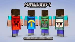 Pack skin Minecraft Minecon 2015 gratuit PS4/PS3/Psvita + lien Xbox one