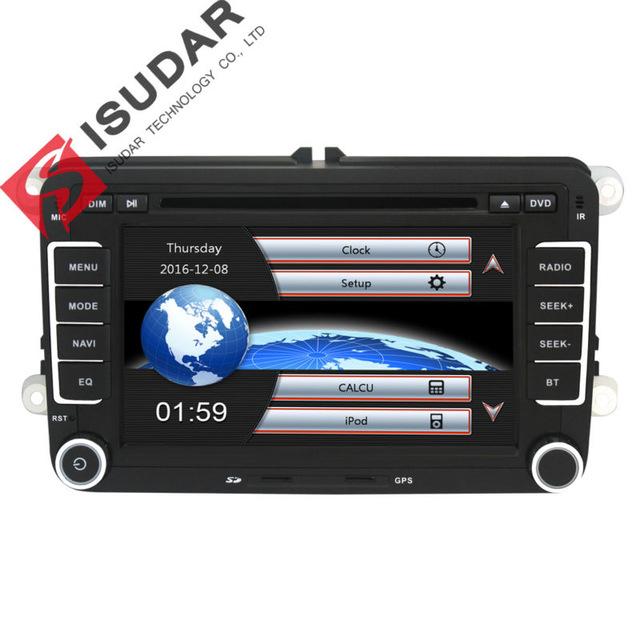 Autoradio Isudar 2 din - DVD, Ecran tactile, Noir, GPS,Bluetooth