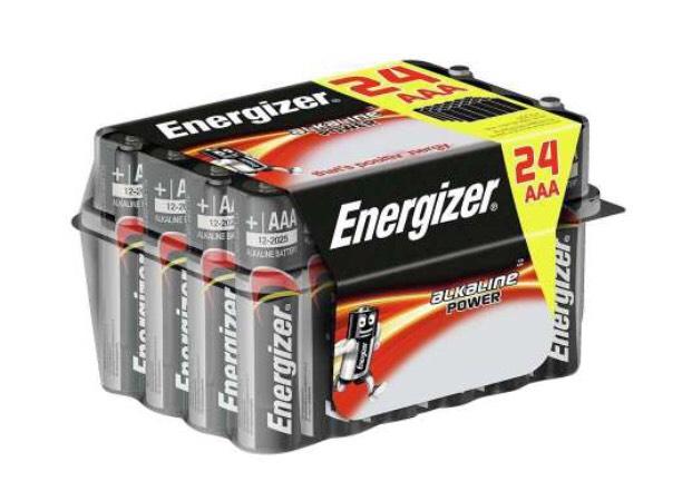 Pack de 24 piles AAA Energizer Alkaline LR03 MN2400