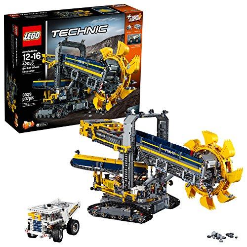 Jeu Lego Technic 42055 - La pelleteuse à godets
