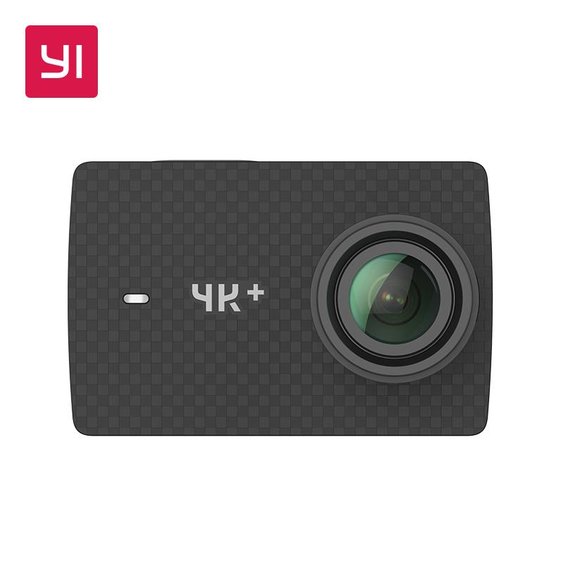 """Camera sportive YI 4K+ - 4K 60fps, 12MP, Ecran tactile 2.2"""" (Entrepôt Espagne - via l'application)"""