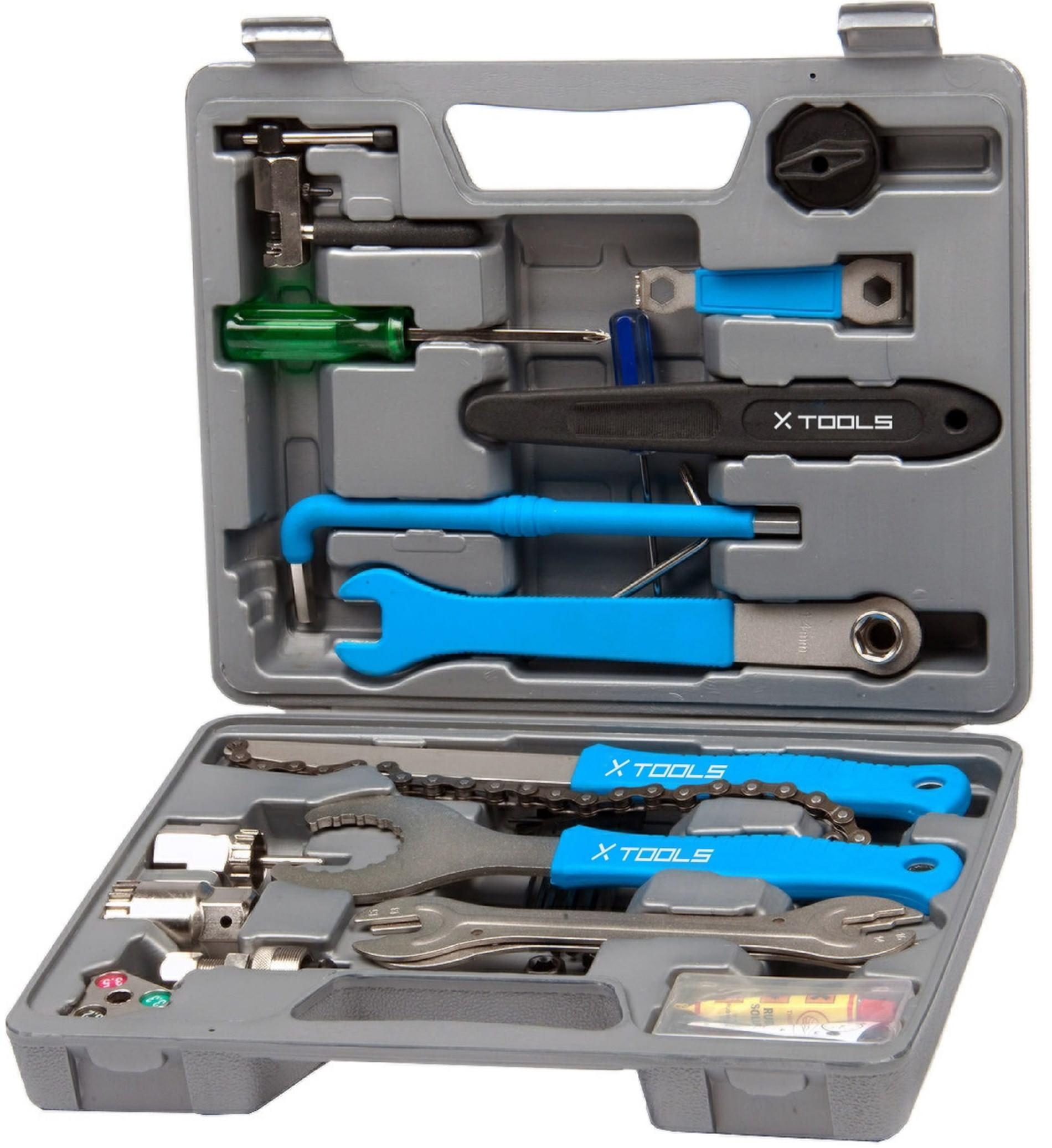 Caisse a outil X-Tools pour velo - 18 pièces