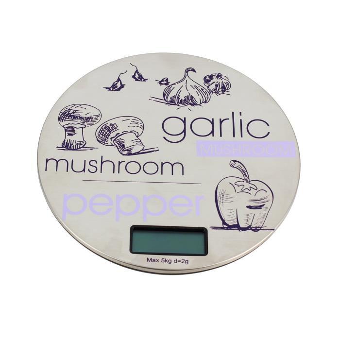 Balance de Cuisine Util Home 6210615 - 5Kg max, graduation de 2g