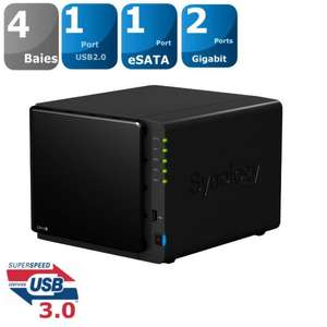 Boîtier NAS 4 Baies DS412+ Synology