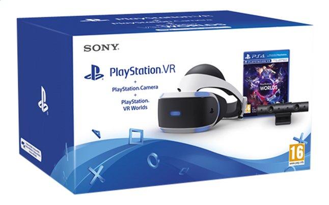 Casque de Réalité Virtuelle Sony PlayStation VR + VR worlds
