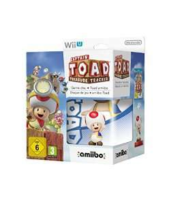 Précommande: Captain Toad: Treasure Tracker + Amiibo Toad sur Wii U