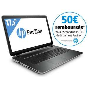 "PC portable 17.3"" HP Pavilion 17-F201NF - AMD A4-6210, HDD 1 To, RAM 6 Go , AMD Radeon R3 (avec ODR 50€)"