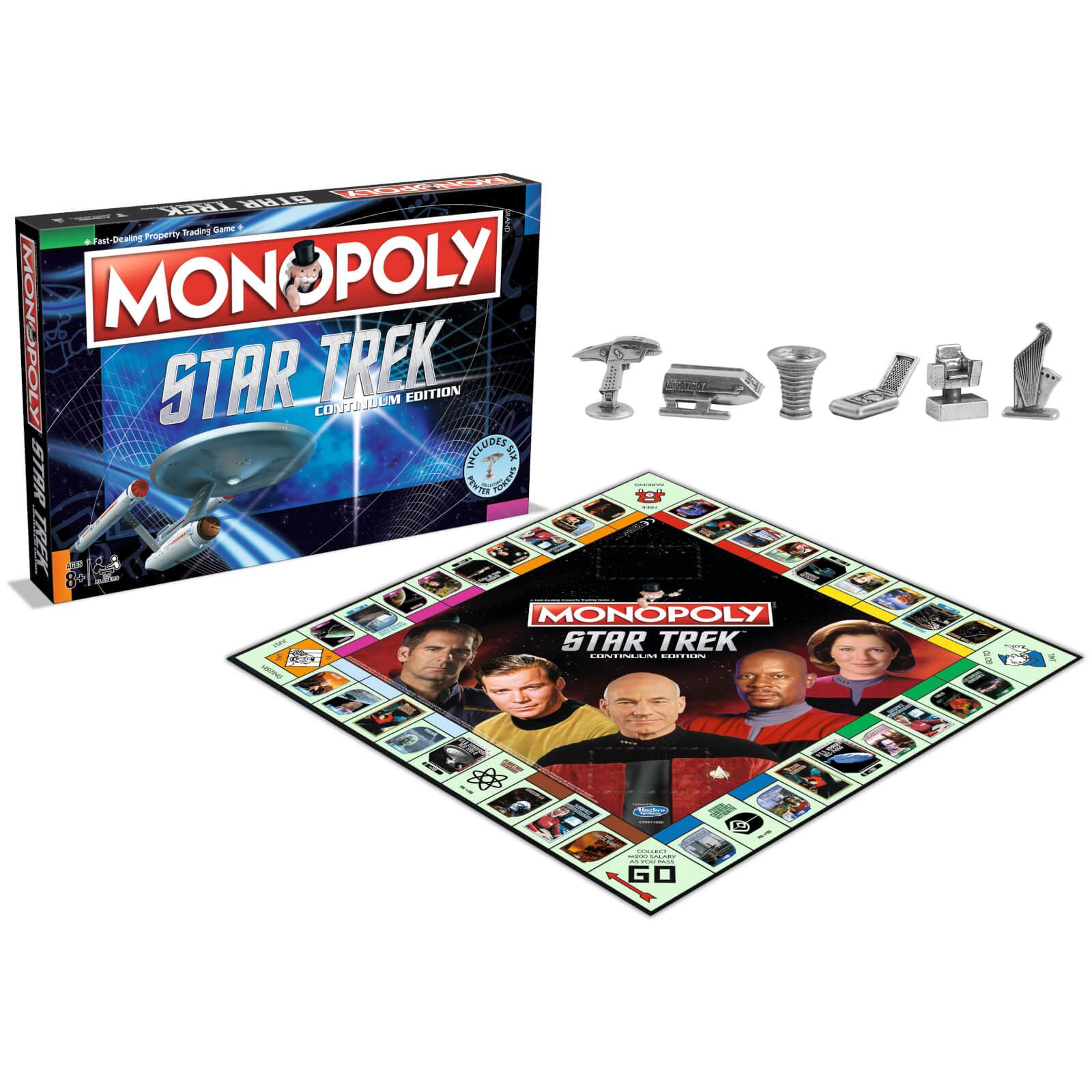 Jeu de Société Monopoly star Trek Continuum - Import UK