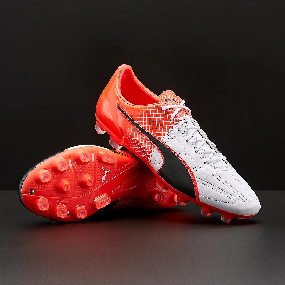 Paire de chaussures de foot Puma evoSPEED 1.5 Cuir AG - Taille au choix