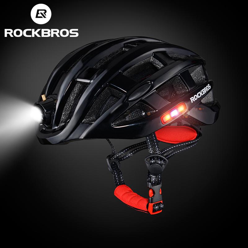 Casque de Vélo ROCKBROS - Led, Taille ajustable 57-62 cm
