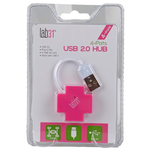 Hub USB2.0 4 ports Lab31