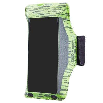 Brassard Running Smartphone Kalenji ByNight - Jaune