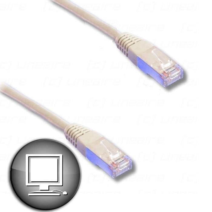 Câble RJ45 Cat.6 FTP