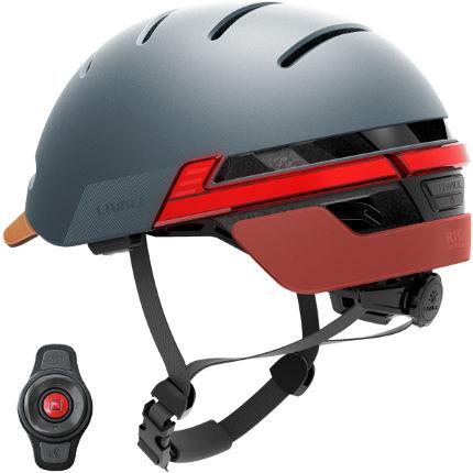 Casque connecté Livall avec clignotants pour vélos et trottinettes