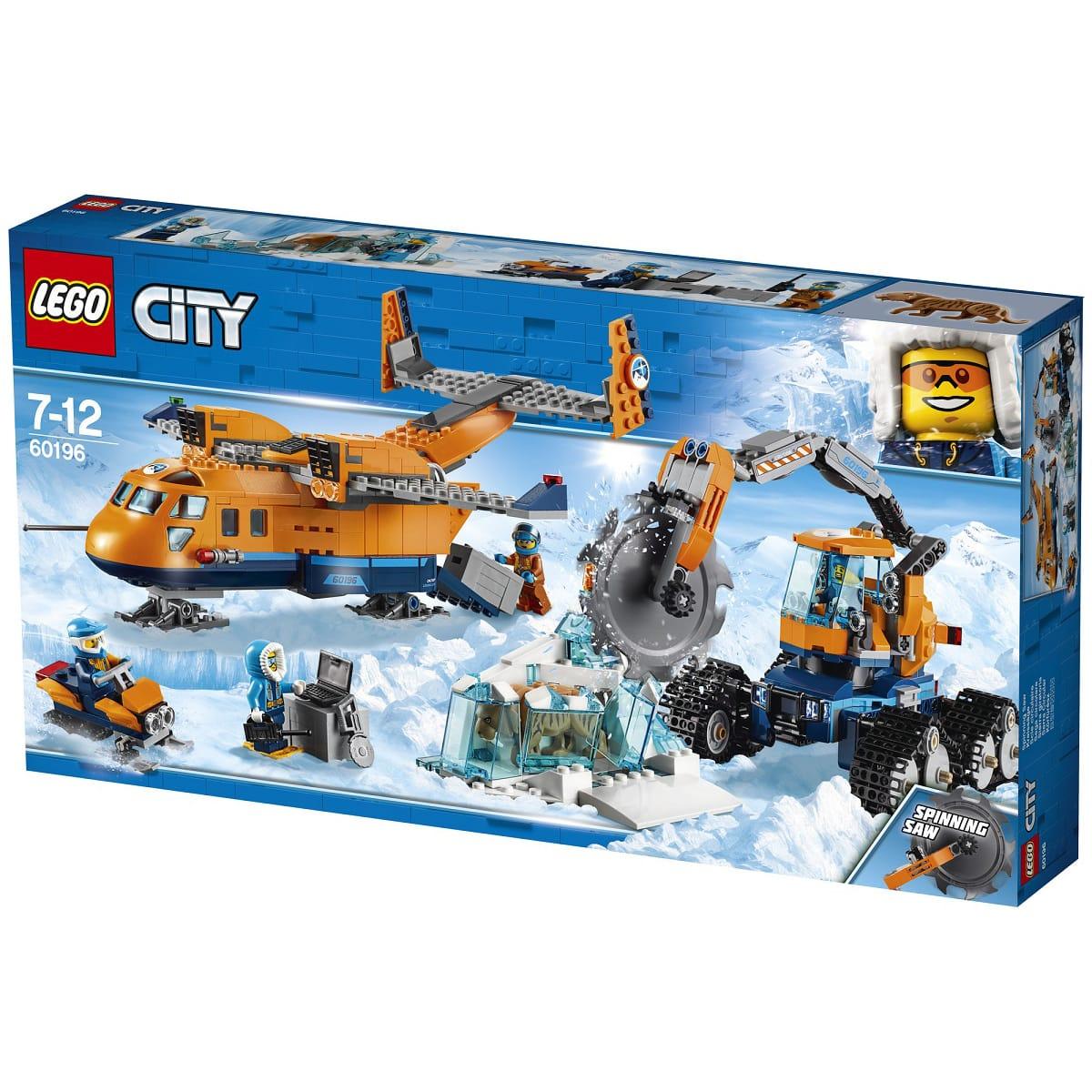 Jeu de Construction Lego City 60196 - L'avion de ravitaillement arctique (Via 37,50€ sur la Carte de Fidelité)