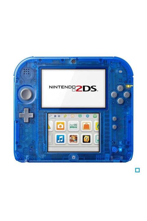 Console Nintendo 2DS - Bleue Transparente