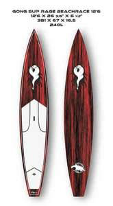 Stand Up Paddle GONG SUP 12'6
