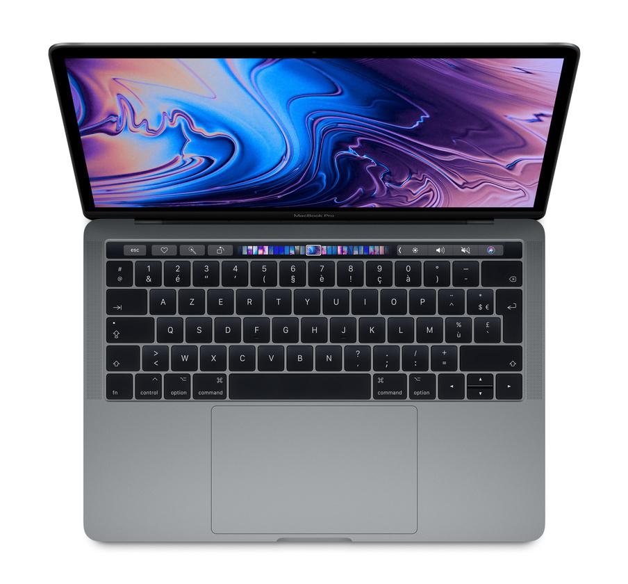 """PC Portable 13"""" MacBook Pro TouchBar (2018) - i5, 8 Go de RAM, 256 Go de SSD (Frontalier Suisse)"""