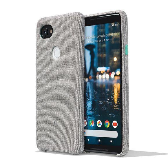 """Smartphone 6"""" Google Pixel 2 XL - QHD+, SnapDragon 835, 4 Go de RAM, 64 Go + Cover tissu"""