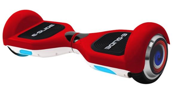 """Hoverboard 6.5"""" E-Slide - Rouge"""
