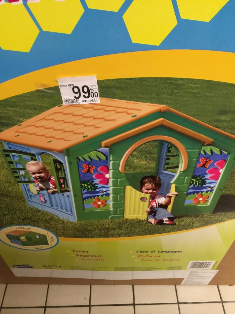 Maison de jardin façon fermier