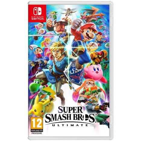 [Précommande] Super Smash Bros Ultimate sur Nintendo Switch + bon d'achat 5€