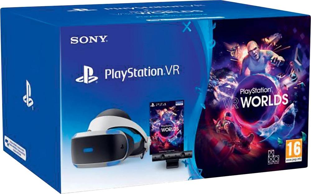 Casque de Réalité Virtuelle Sony PlayStation VR (V2) + Caméra + VR Worlds