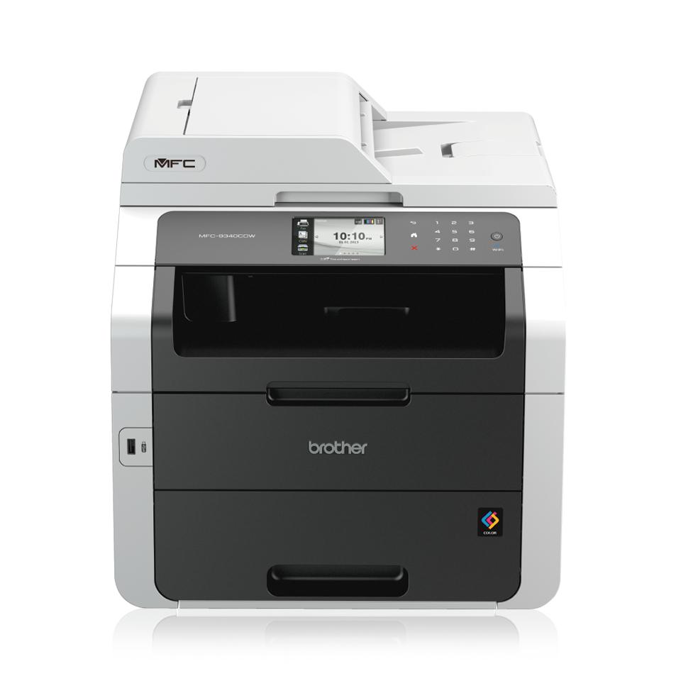 Imprimante multifonction Brother MFC-9340CDW Couleur Laser (Via ODR de 50€)