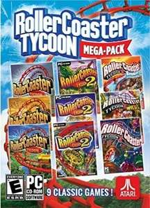 RollerCoaster Tycoon Mega Pack : RC Tycoon 1 + 2 + 3 + Extensions sur PC (Dématérialisé - Steam)