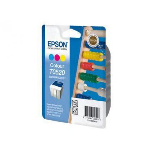 Pack de 3 cartouches couleur Epson T0520