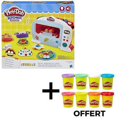 Jouet pâte à modeler Play-Doh - Le Four Magique + 8 pots Offerts