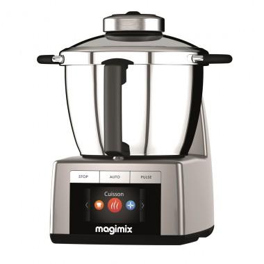 Robot culinaire chauffant Magimix Cook Expert - Gris, Noir ou Rouge