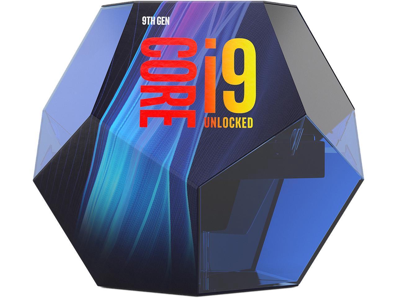 Processeur Intel Core i9-9900K Coffee Lake 8-Core, 16-Thread, 3.6 GHz (5.0 GHz Turbo) LGA 1151 (Frais d'importation inclus)