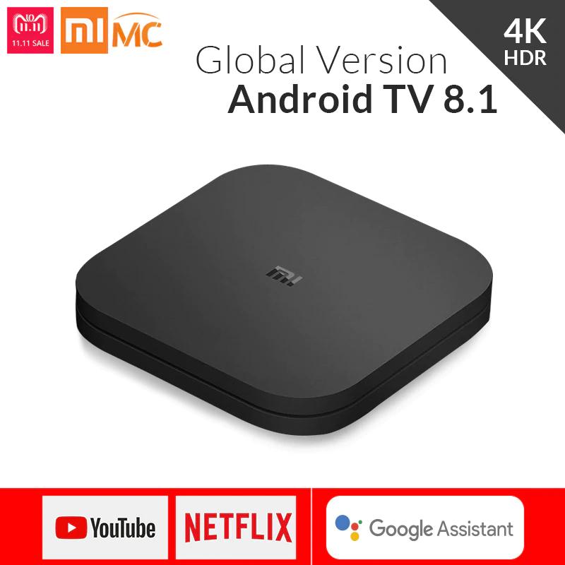 Box TV Android Xiaomi Mi Box S Nouvelle Version (International) sous OREO 8.1
