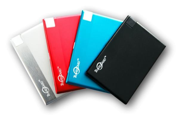 Batterie externe format carte de crédit TravelCard 1500 mAh