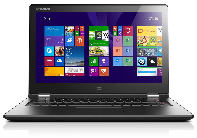"""PC portable tactile 13"""" Lenovo Yoga 2 Noir - Intel i5 4210U, 8 Go RAM, 256 Go SSD (via ODR TVA)"""