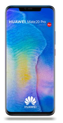 """Smartphone 6.3"""" Mate 20 Pro + Coffret + Google Home Mini (via ODR's) avec abonnement Sensation 70 Go (Engagement 24 mois)"""