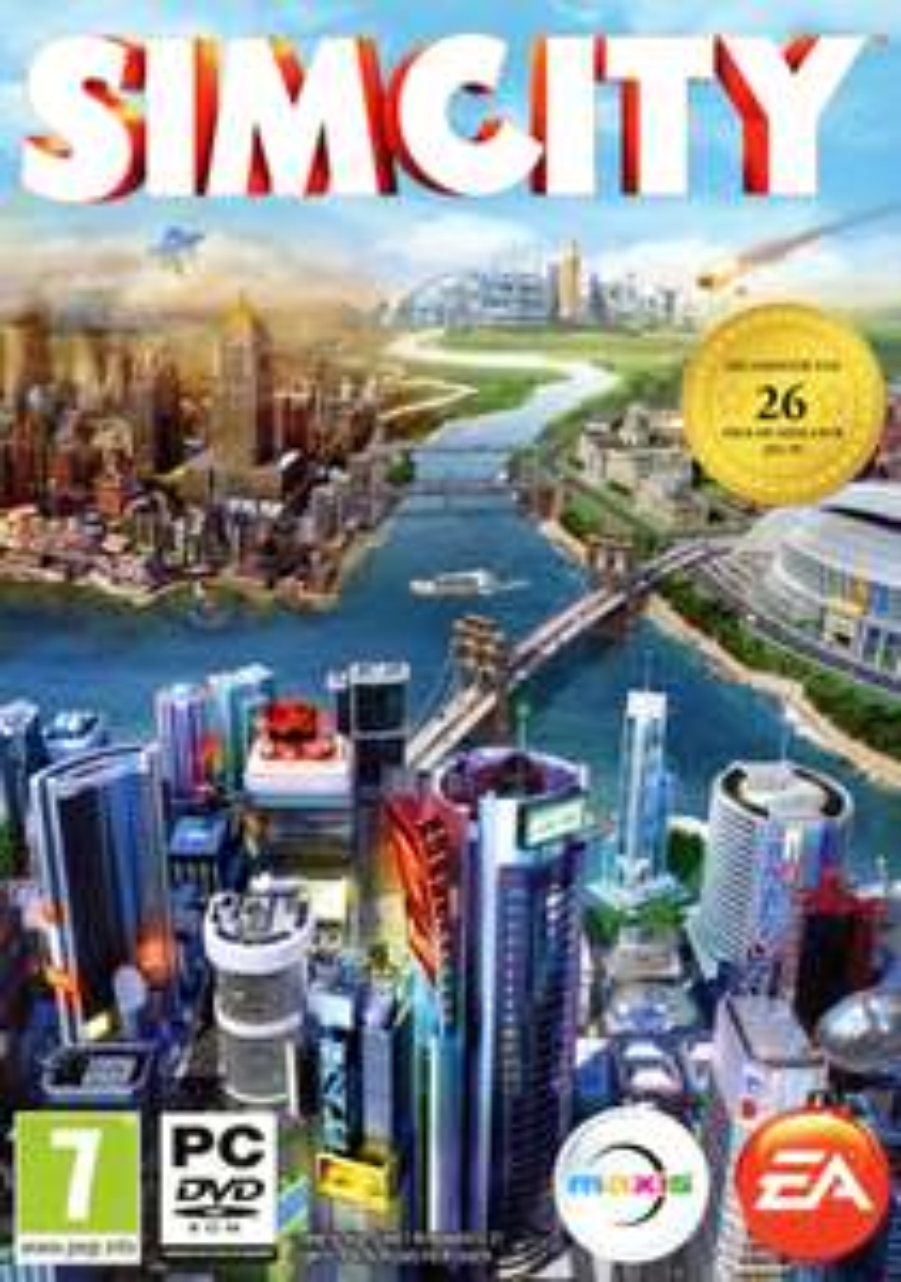 Sélection de jeux dématérialisés en vente flash - Ex : SimCity